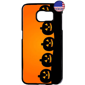 Halloween Night Pumpkins Rubber Case Cover For Samsung Galaxy