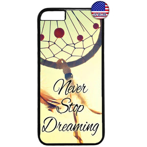 Dreamcatcher Feathers Bed Charm Rubber Case Cover For Iphone