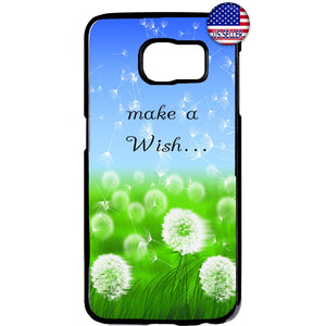 Make A Wish Dandelion Rubber Case Cover For Samsung Galaxy