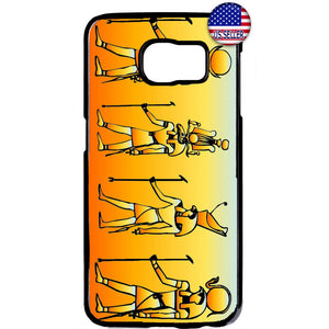 Ancient Egyptian People Hieroglyphics Rubber Case Cover For Samsung Galaxy Note