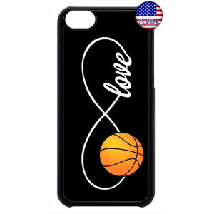 Infinite Forever Love Basketball Sports Rubber Case Cover For Ipod Touch
