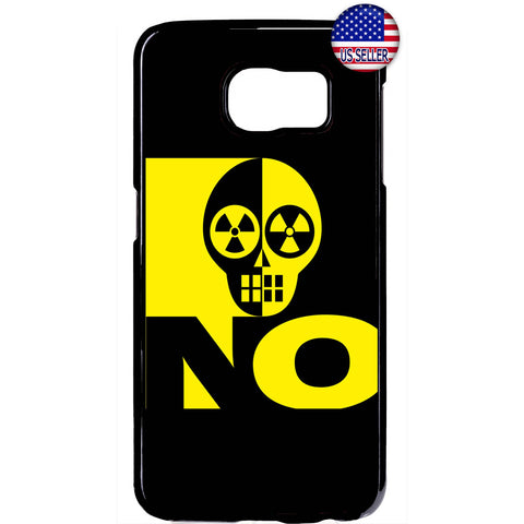 Radioactive Sign Skull Rubber Case Cover For Samsung Galaxy Note