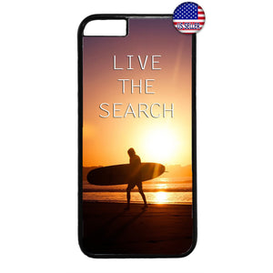 Live The Search Surfer Hawaii Rubber Case Cover For Iphone
