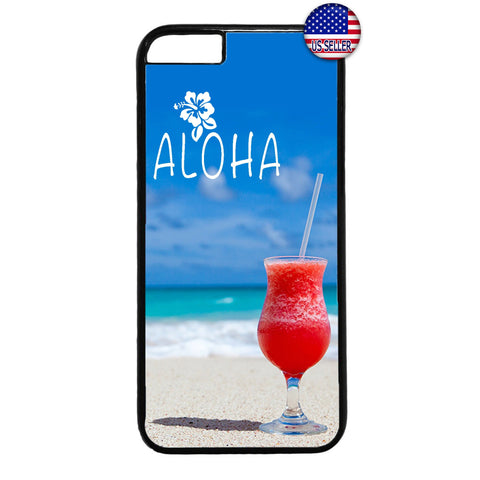 Aloha Beach Life Hawaii Rubber Case Cover For Iphone