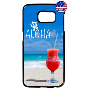 Aloha Beach Life Hawaii Rubber Case Cover For Samsung Galaxy