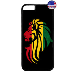 Rastafari Lion Reggae Jamaica Weed Rubber Case Cover For Iphone