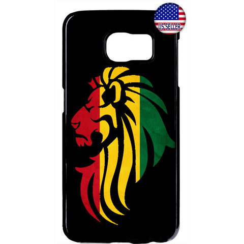 Rastafari Lion Reggae Jamaica Weed Rubber Case Cover For Samsung Galaxy
