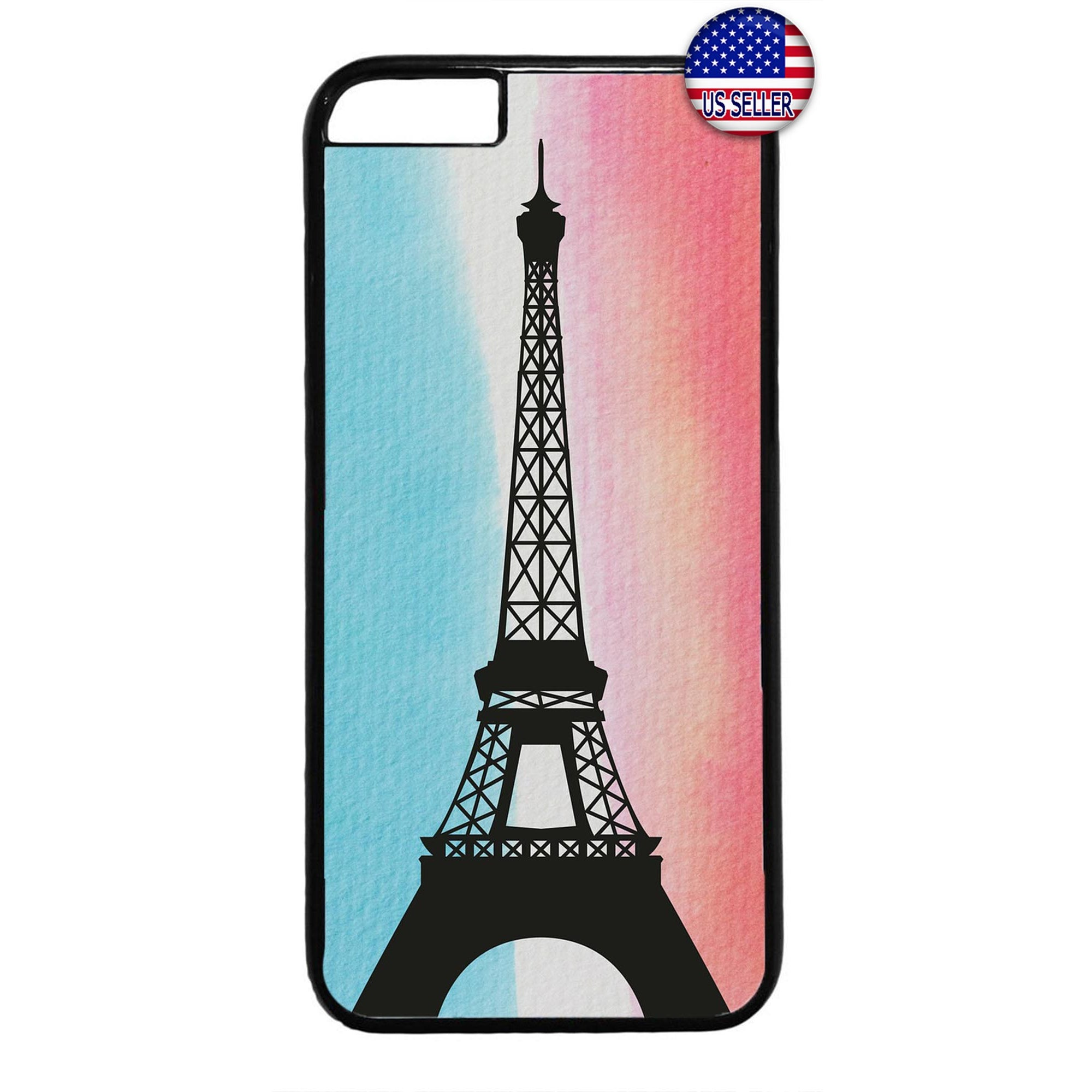 Eiffel Tower France Paris Rubber Case Cover For Iphone