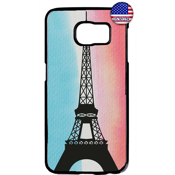Eiffel Tower France Paris Rubber Case Cover For Samsung Galaxy