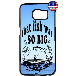 Fishing That Fish So Big Rubber Case Cover For Samsung Galaxy Note