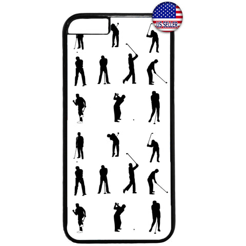 Golf Sport Funny Emoji Rubber Case Cover For Iphone
