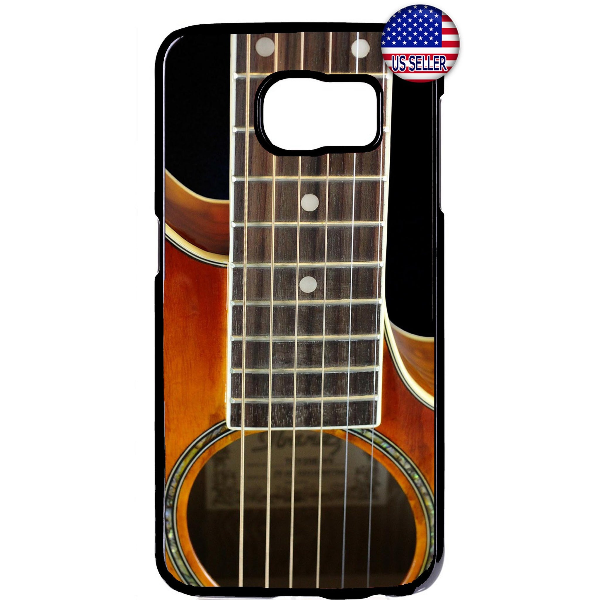 Music Guitar Instrument Rubber Case Cover For Samsung Galaxy Note