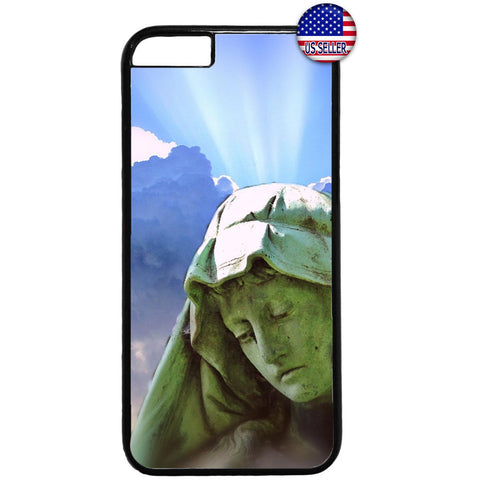 Catholic Virgin Mary Sun Christian Bible Rubber Case Cover For Iphone