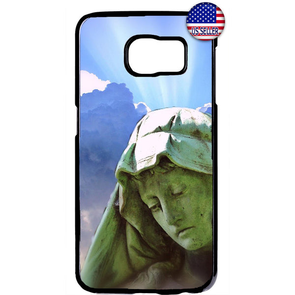 Catholic Virgin Mary Sun Christian Bible Rubber Case Cover For Samsung Galaxy Note