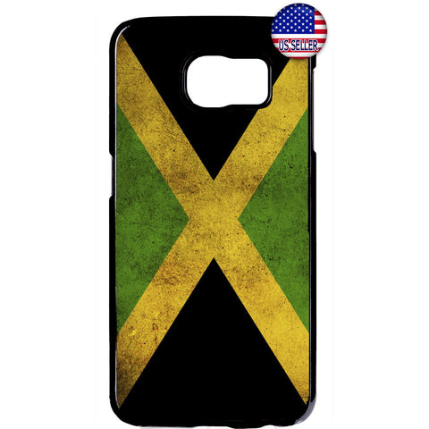 Rastafari Jamaica Flag Rubber Case Cover For Samsung Galaxy