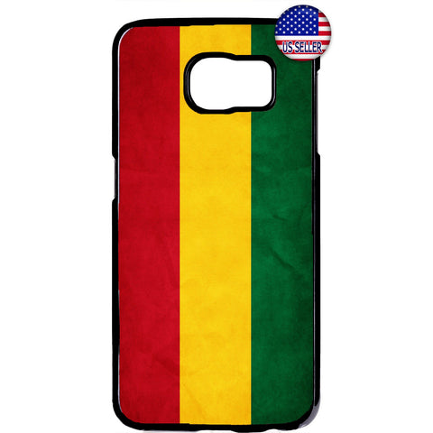 Reggae Rasta Flag Cool Marijuana One Love Rubber Case Cover For Samsung Galaxy