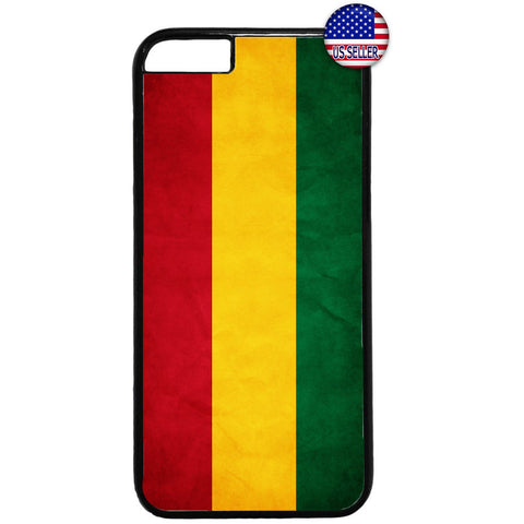 Reggae Rasta Flag Cool Marijuana One Love Rubber Case Cover For Iphone