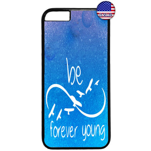 Forever Young Infinite Rubber Case Cover For Iphone