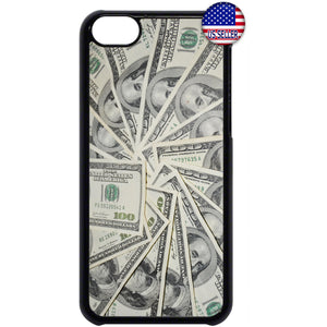 $100 Dollar Bills Money Rubber Case Cover For Ipod Touch