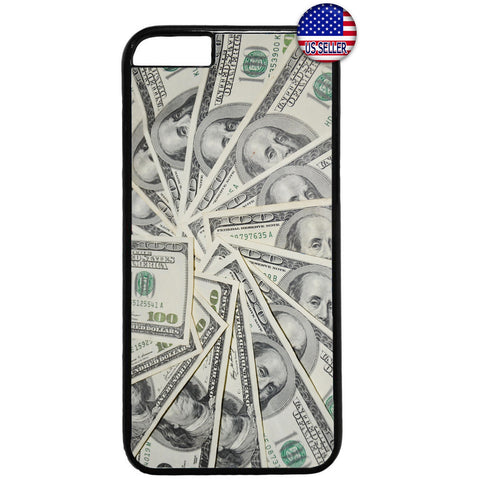 $100 Dollar Bills Money Rubber Case Cover For Iphone