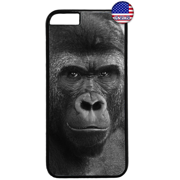 Wild Gorilla Monkey Rubber Case Cover For Iphone