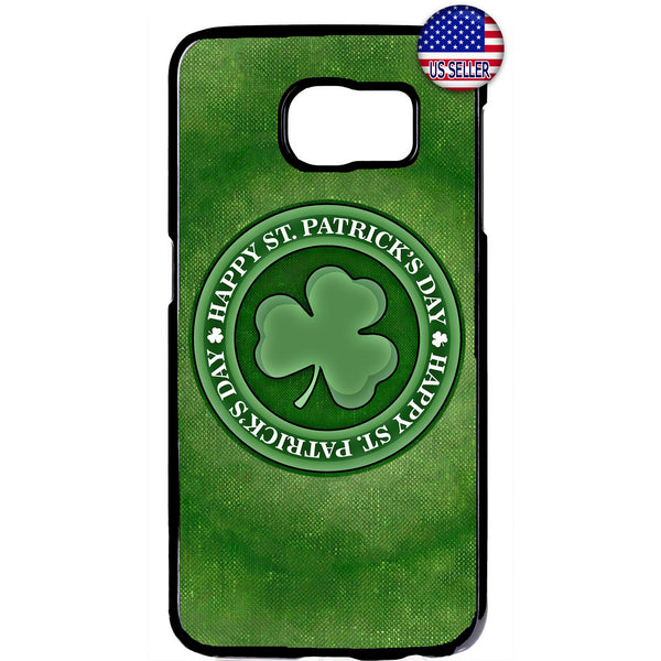 ST. Patrick's Day Clover Rubber Case Cover For Samsung Galaxy
