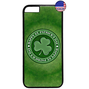 ST. Patrick's Day Clover Rubber Case Cover For Iphone