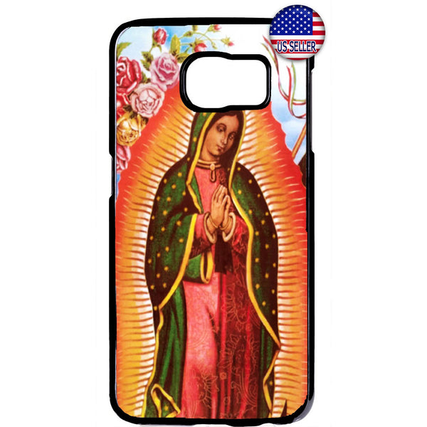 Lady Guadalupe Virgin Rubber Case Cover For Samsung Galaxy Note