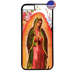 Lady Guadalupe Virgin Rubber Case Cover For Iphone