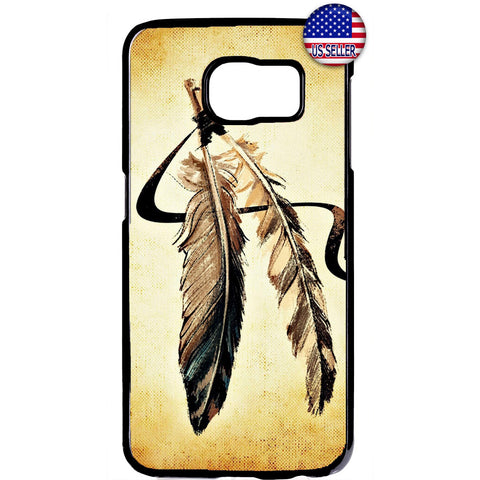 Dreamcatcher Feathers Rubber Case Cover For Samsung Galaxy