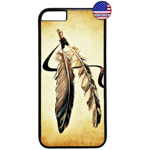 Dreamcatcher Feathers Rubber Case Cover For Iphone