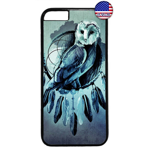 Dreamcatcher Night Owl Rubber Case Cover For Iphone