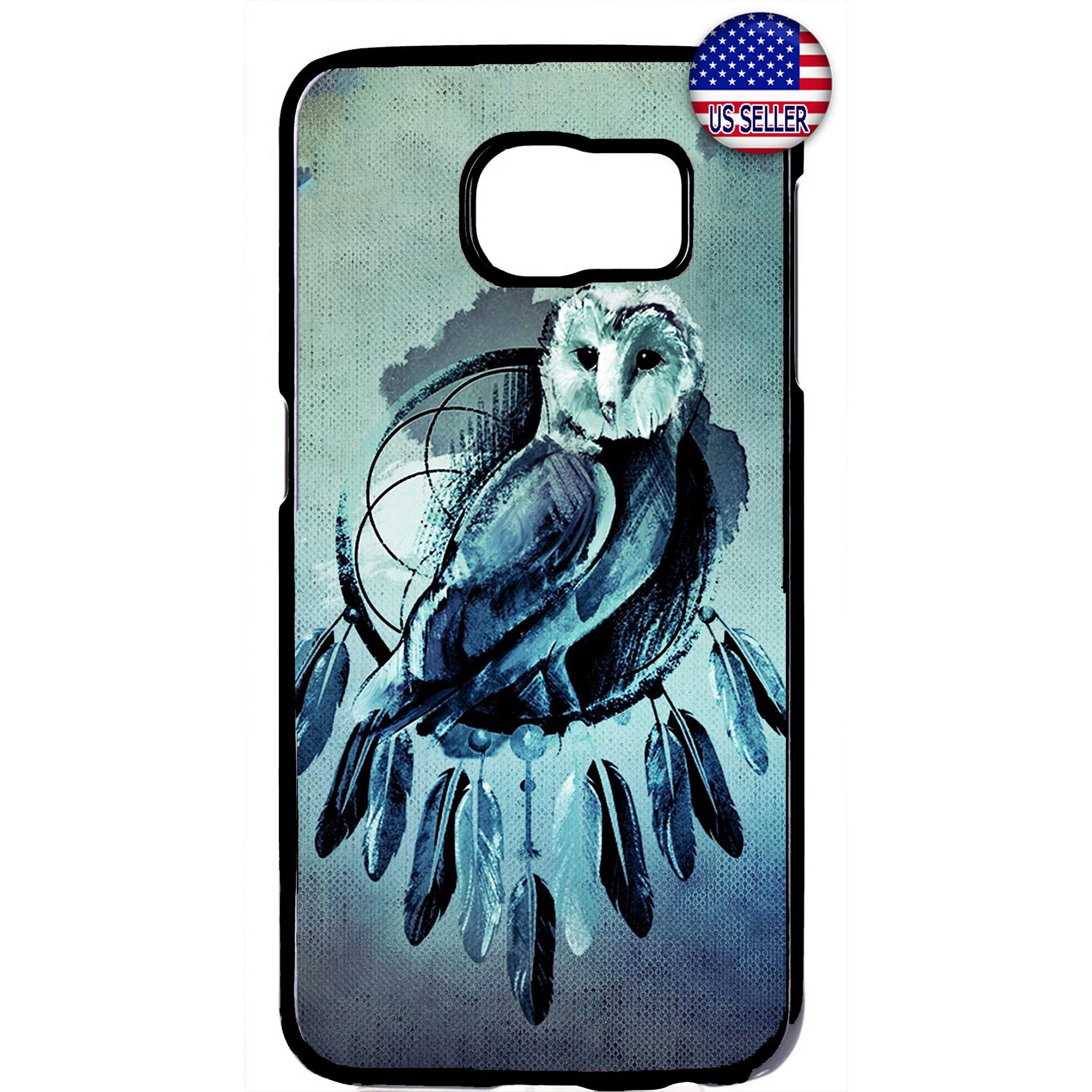Dreamcatcher Night Owl Rubber Case Cover For Samsung Galaxy