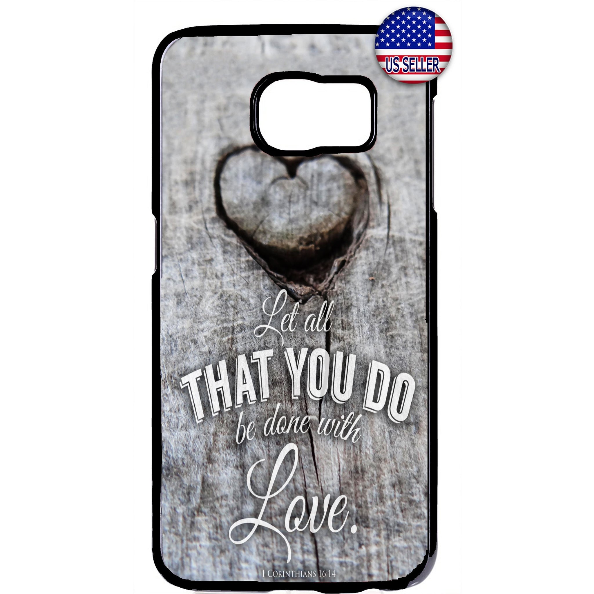 The Lord Jesus Christ Done With Love Christian Rubber Case Cover For Samsung Galaxy Note