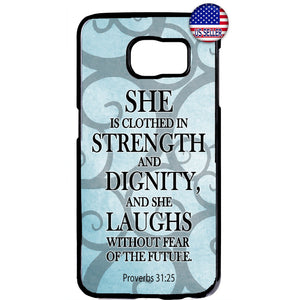 Proverbs Bible Women Christian Bible Rubber Case Cover For Samsung Galaxy