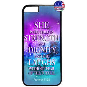 Jesus Christ Bible Verse Christianity Christian Rubber Case Cover For Iphone