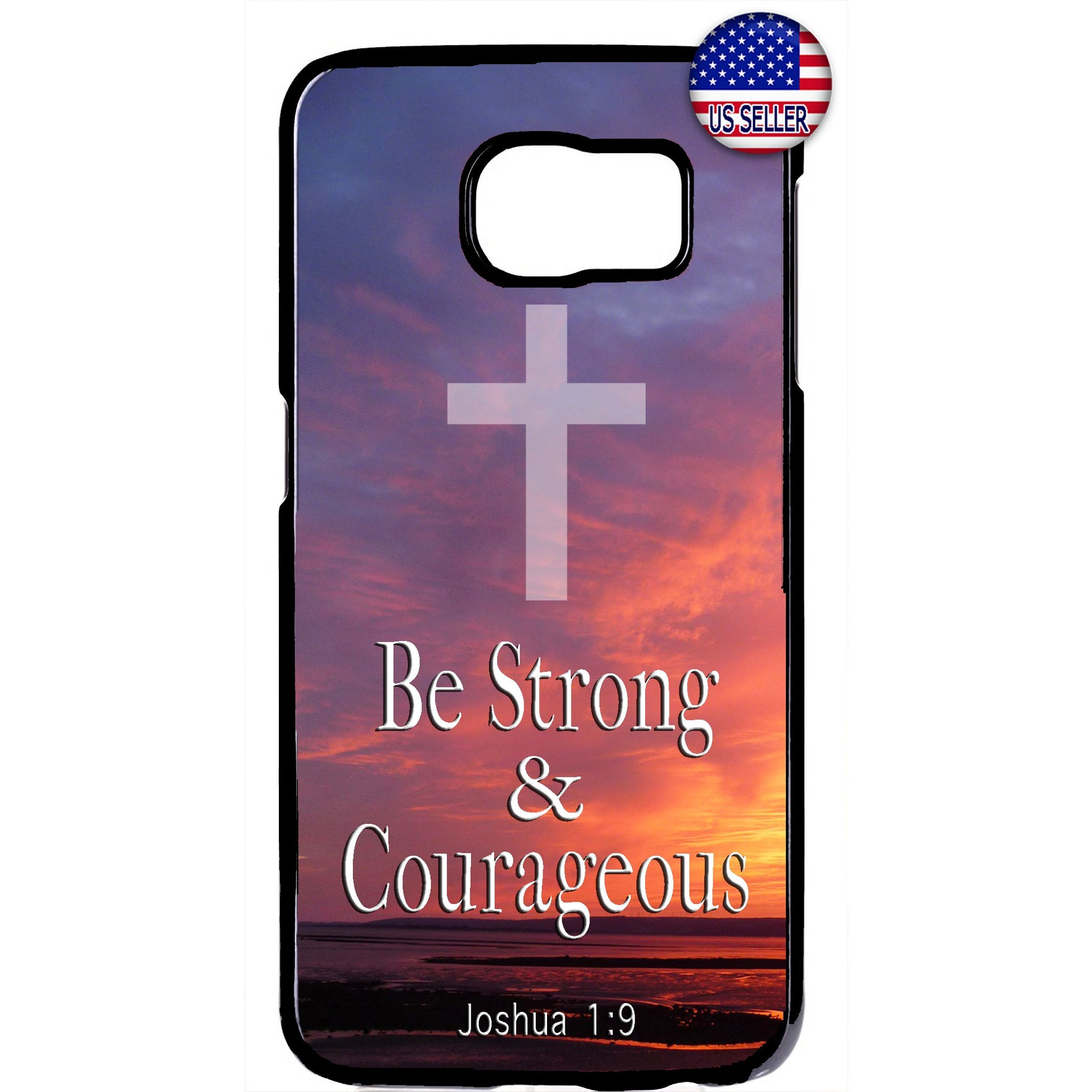 Be Strong Christ Bible Christian Rubber Case Cover For Samsung Galaxy