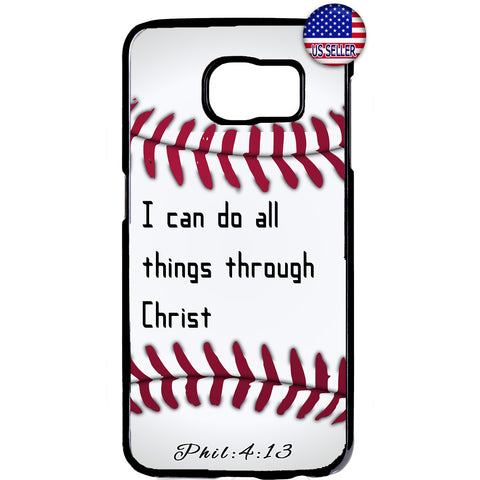 Christian Bible Verse Baseball Jesus Christ Rubber Case Cover For Samsung Galaxy Note