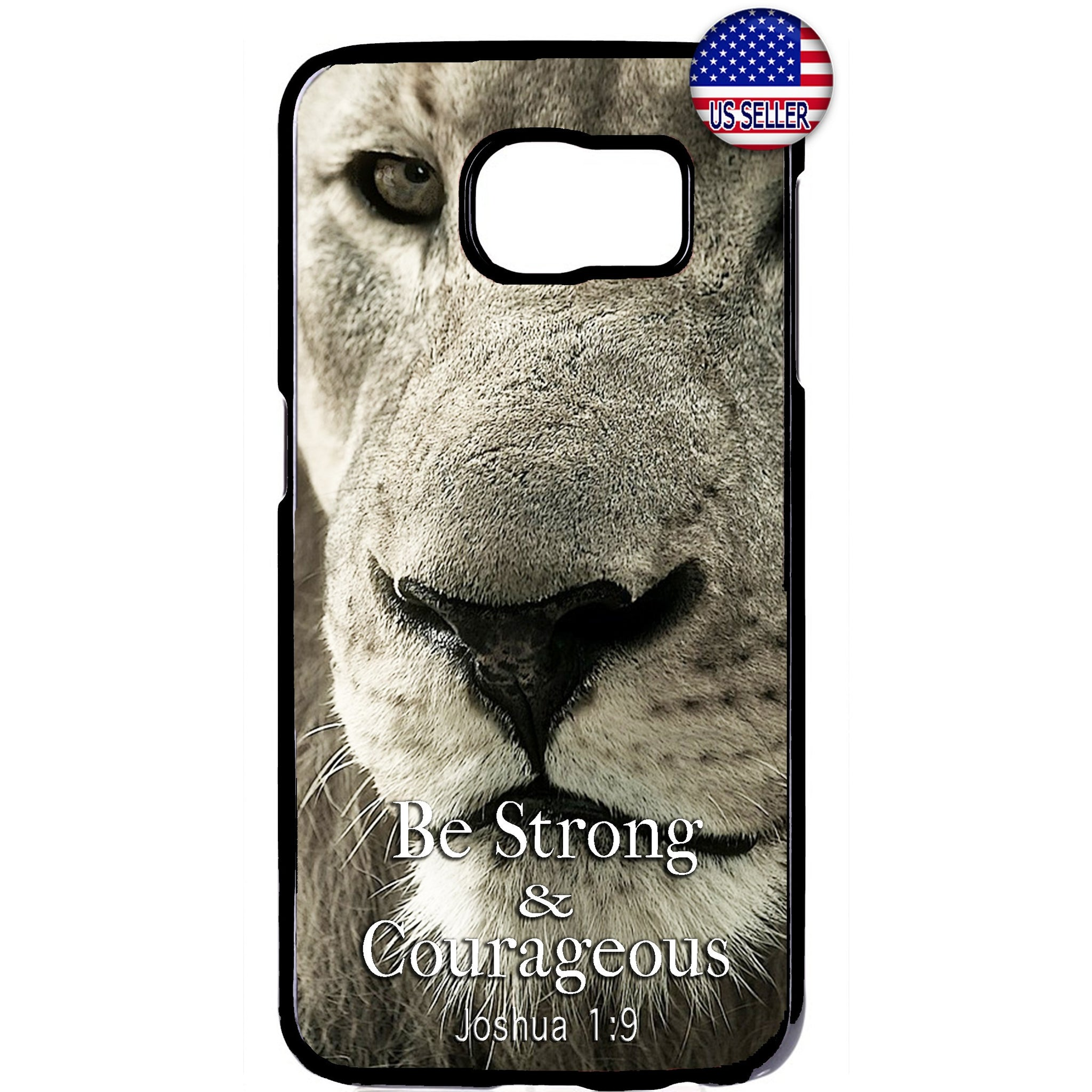 Bible Verse Lion Christ Christian Rubber Case Cover For Samsung Galaxy