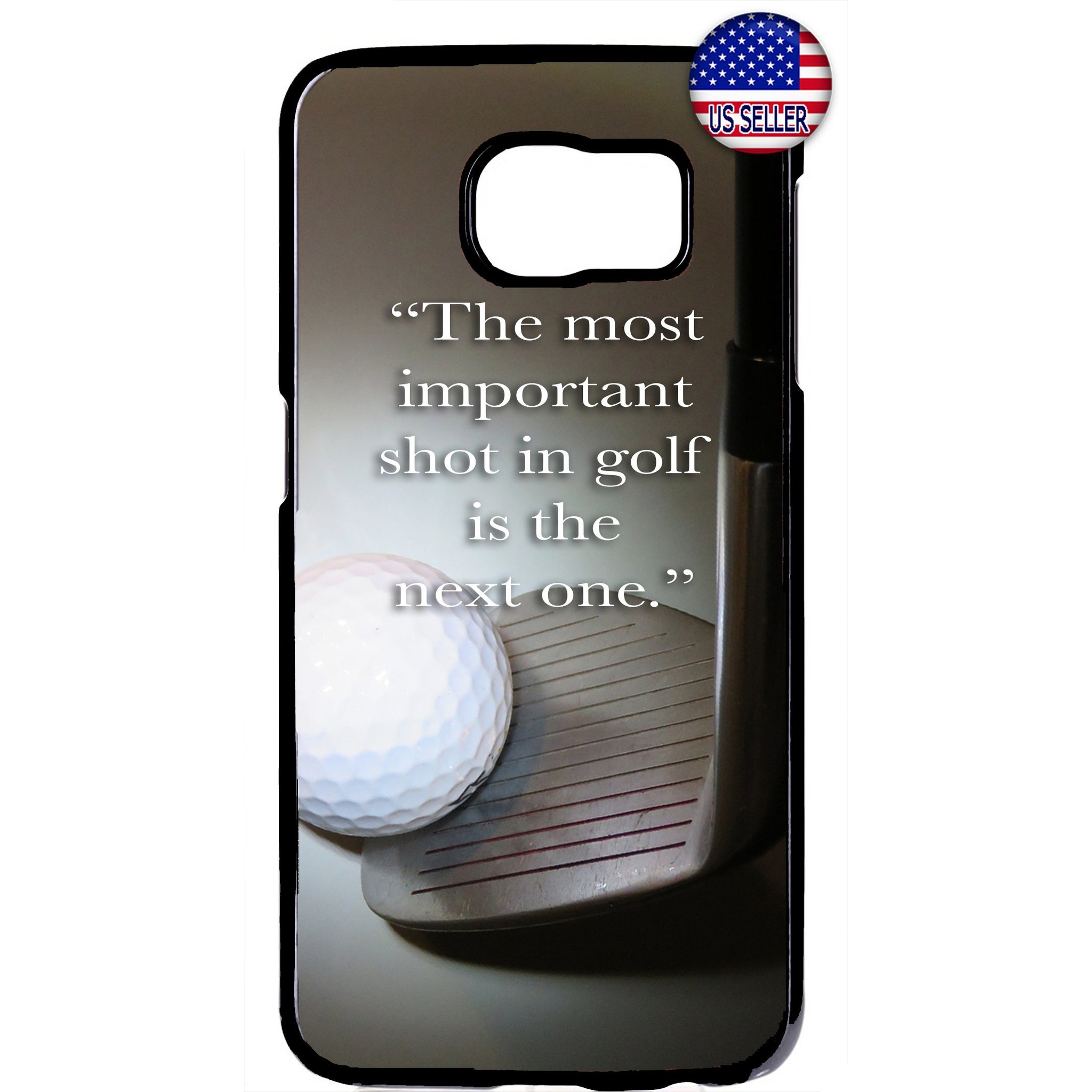 The Next Shot Golf Ball Rubber Case Cover For Samsung Galaxy