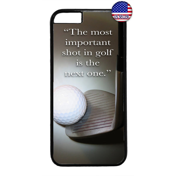 The Next Shot Golf Ball Rubber Case Cover For Iphone