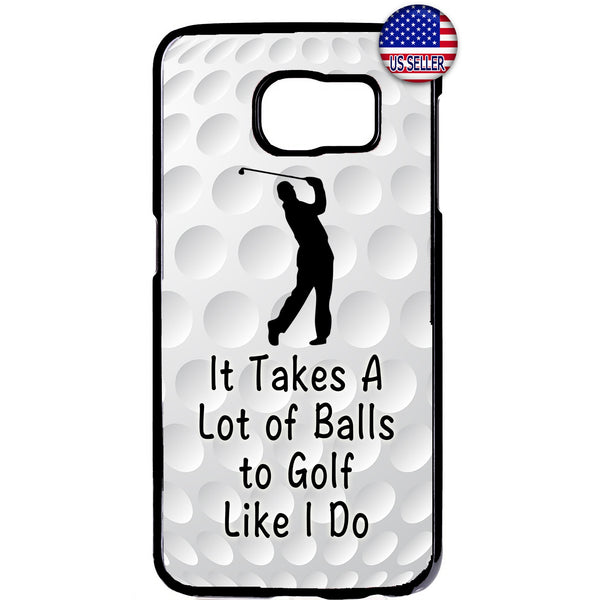 Balls To Golf Like I Do Rubber Case Cover For Samsung Galaxy Note