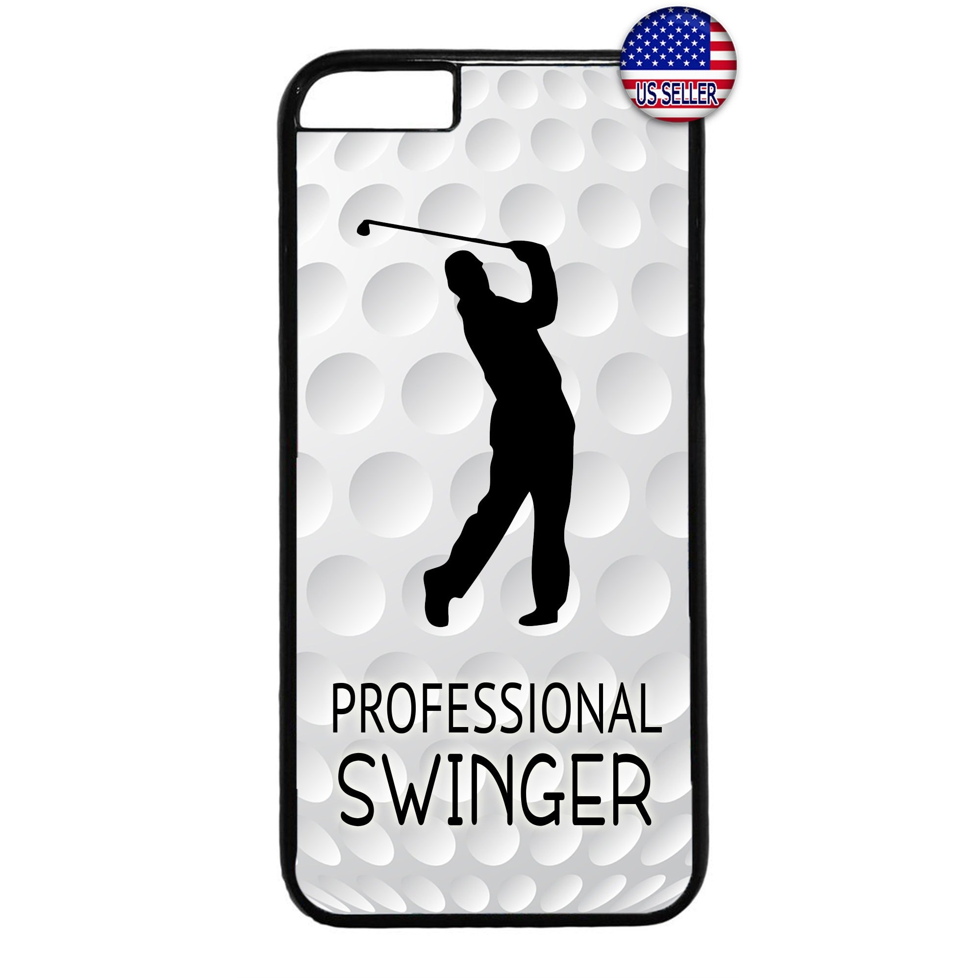 Professional Swinger Golf Rubber Case Cover For Iphone