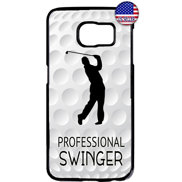 Professional Swinger Golf Rubber Case Cover For Samsung Galaxy