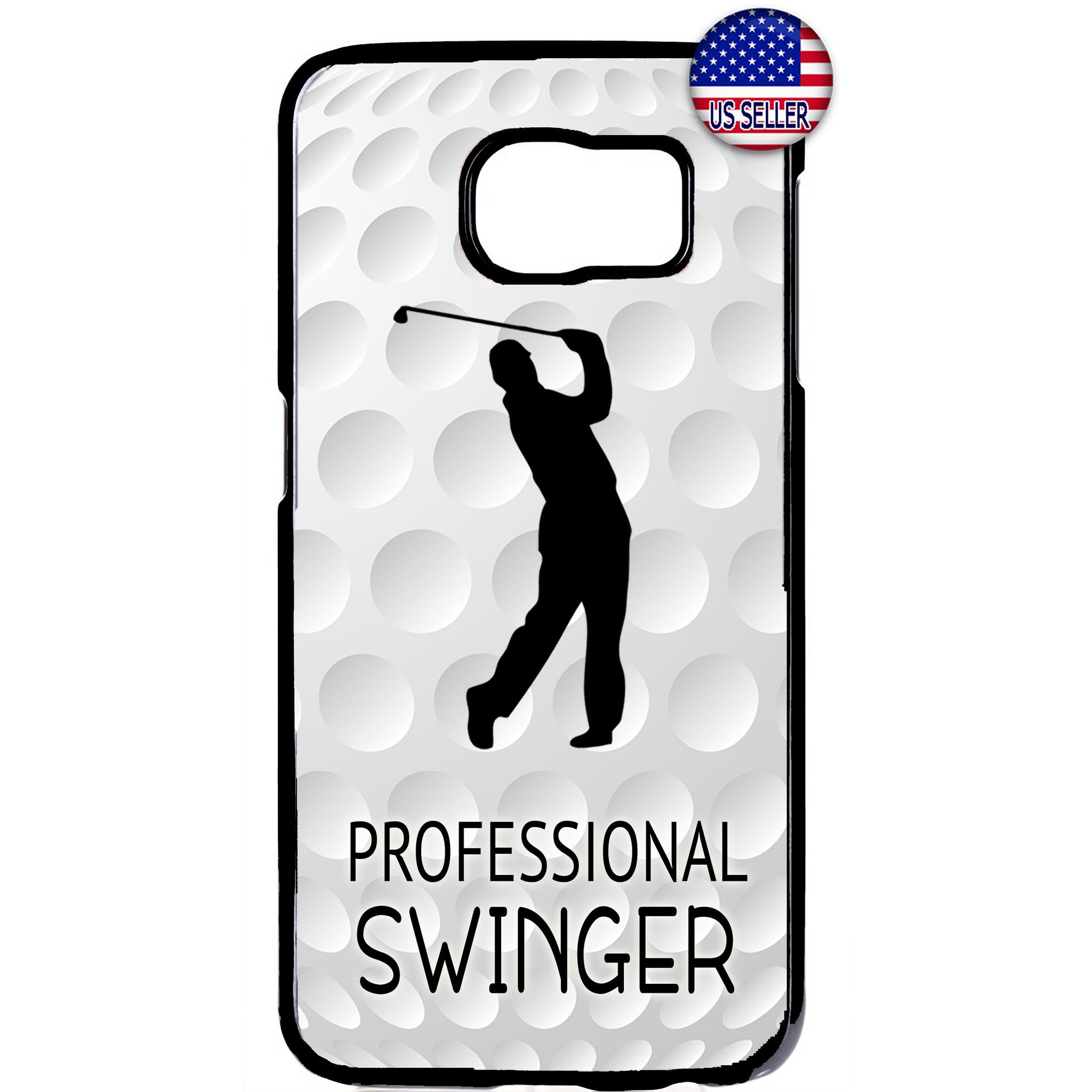 Professional Swinger Golf Rubber Case Cover For Samsung Galaxy Note
