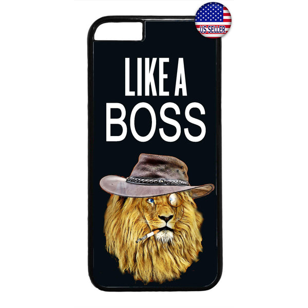 Like A Boss Wild Lion Rubber Case Cover For Iphone