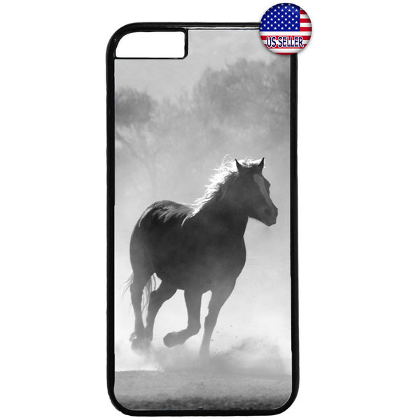 Horse Running Wild Free Rubber Case Cover For Iphone