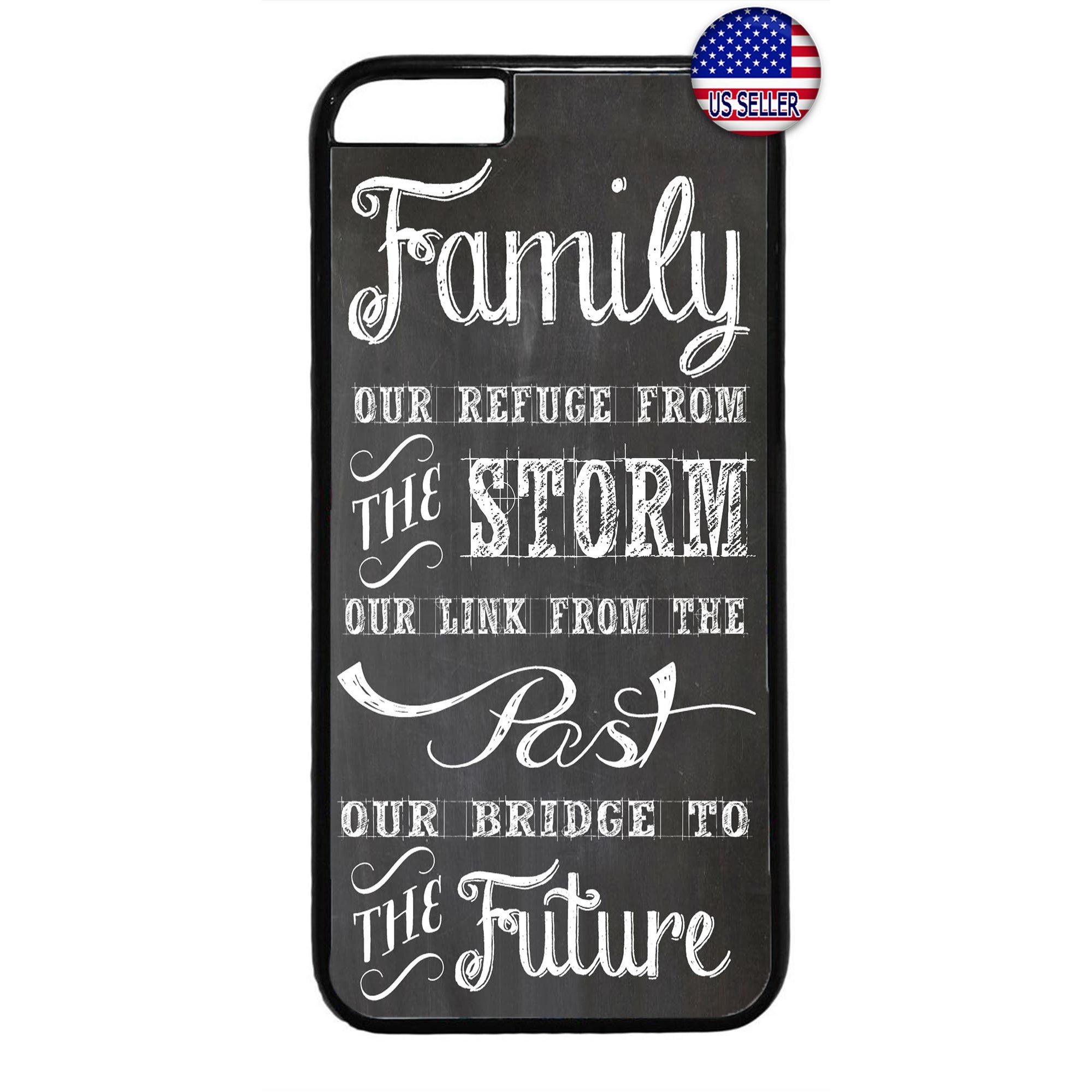 Family Is Everything Love Rubber Case Cover For Iphone