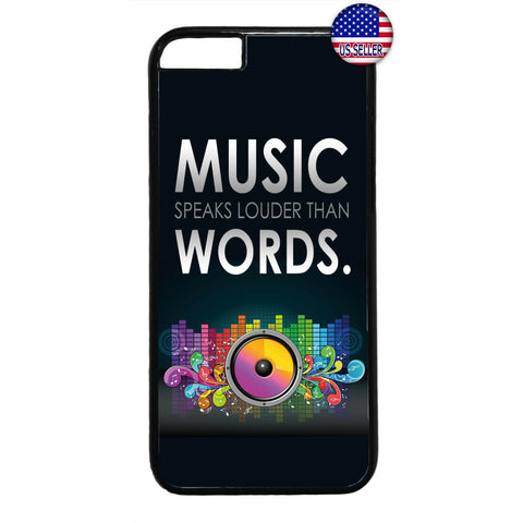 Music Speaks Dancing Rubber Case Cover For Iphone