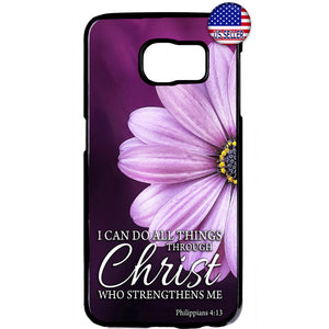 All Things Christ Bible Christian Rubber Case Cover For Samsung Galaxy